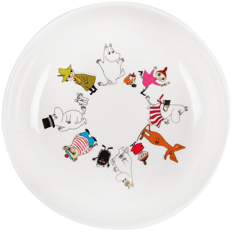 Moomin Friends bowl by Martinex - The Official Moomin Shop