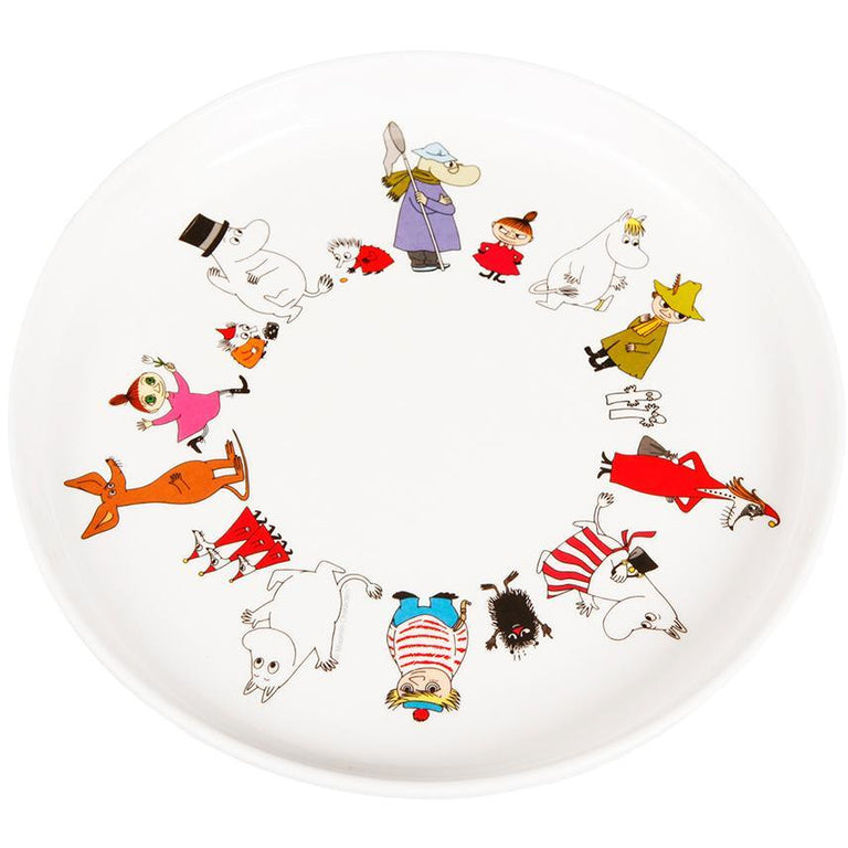 Moomin Friends plate by Martinex - The Official Moomin Shop