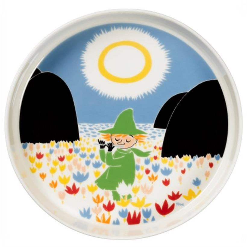 Moomin Friendship Serving Platter 26 cm by Arabia - The Official Moomin Shop