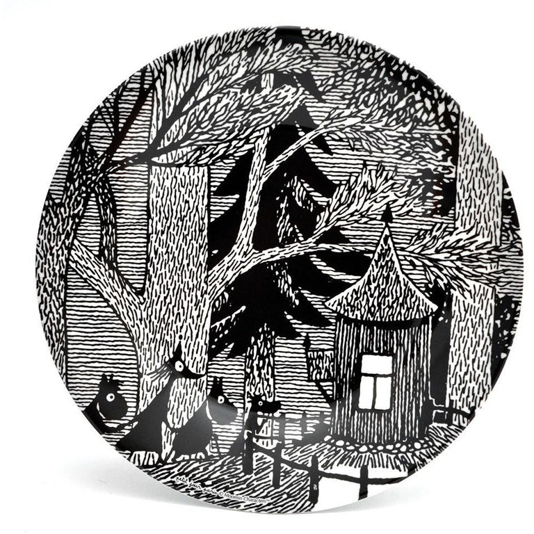Moomin home sweet home plate - The Official Moomin Shop