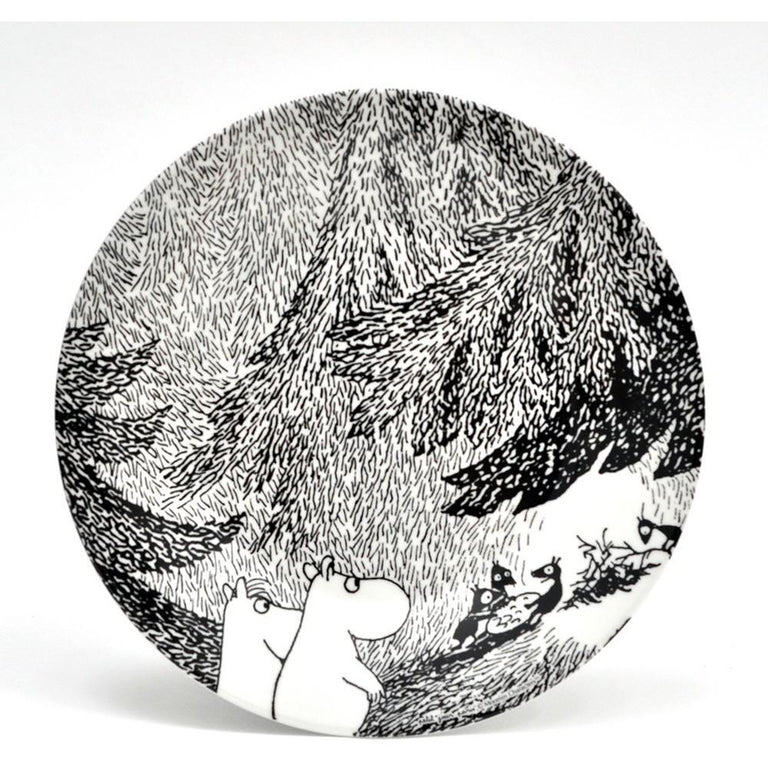 Moomin meeting plate - The Official Moomin Shop