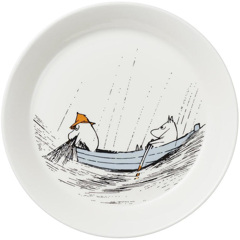 "Moomin ""True to its origins"" Plate - Arabia - The Official Moomin Shop"