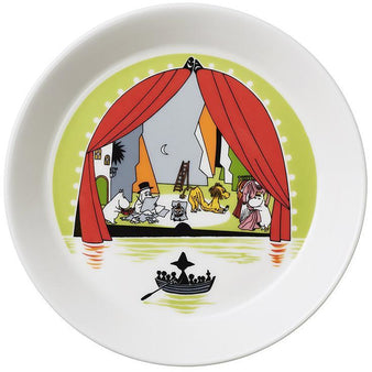 Moomin Summer Plate 2017 by Arabia - Summer Theater