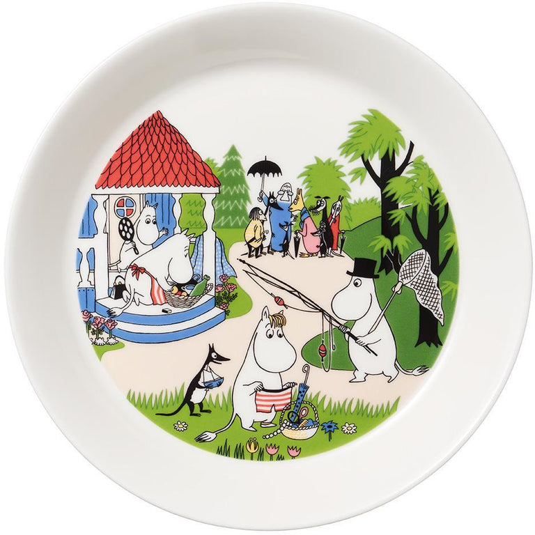 Moomin Summer Plate 2018 by Arabia - Going on vacation - The Official Moomin Shop