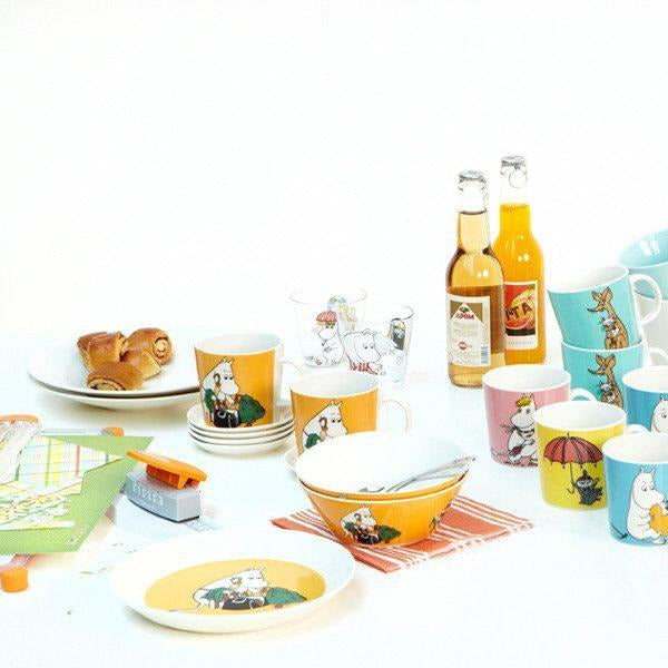 Moominmamma plate apricot by Arabia - The Official Moomin Shop
