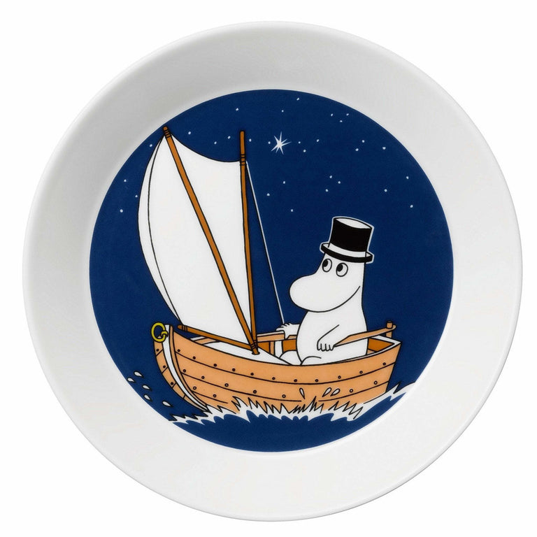 Moominpappa Sailing plate by Arabia - The Official Moomin Shop