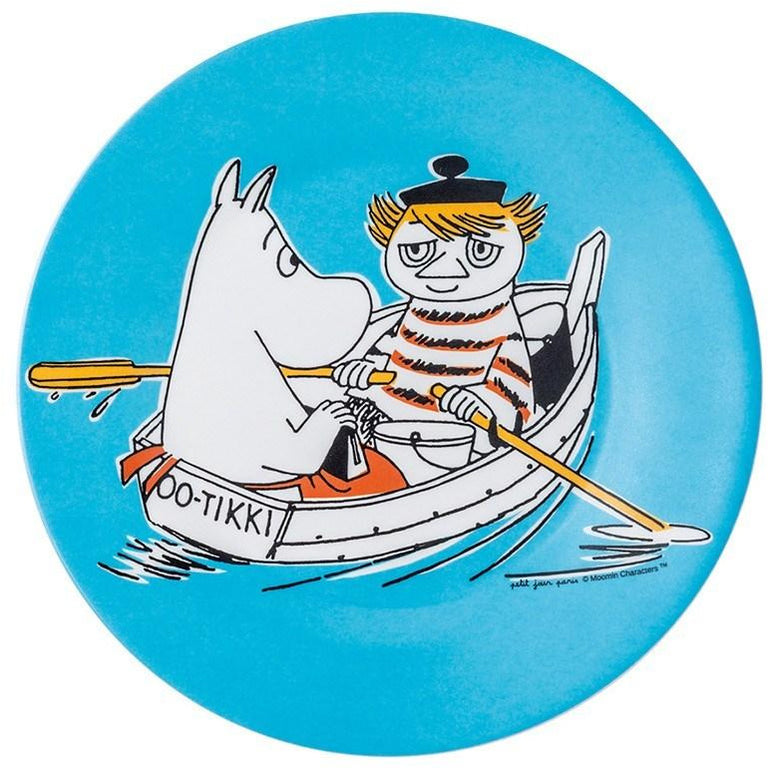 Moomintroll and Too-ticky dessert plate - The Official Moomin Shop