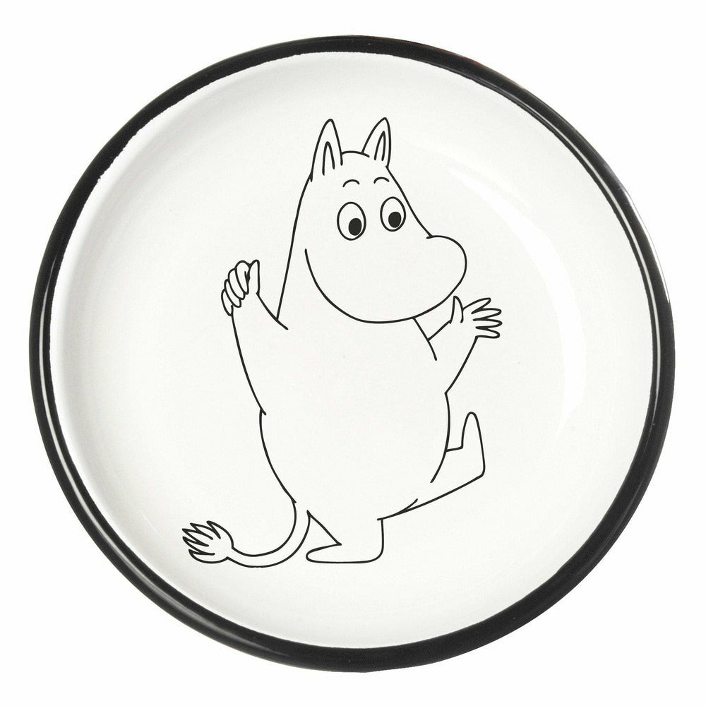 Moomintroll Plate 18 cm - Muurla - The Official Moomin Shop