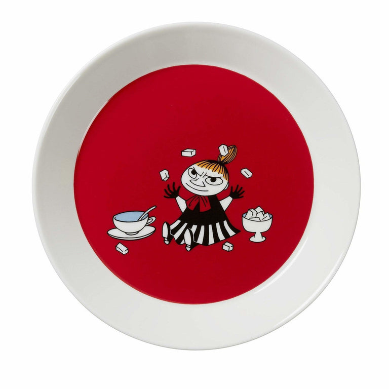 Red Little My Plate - Arabia - The Official Moomin Shop
