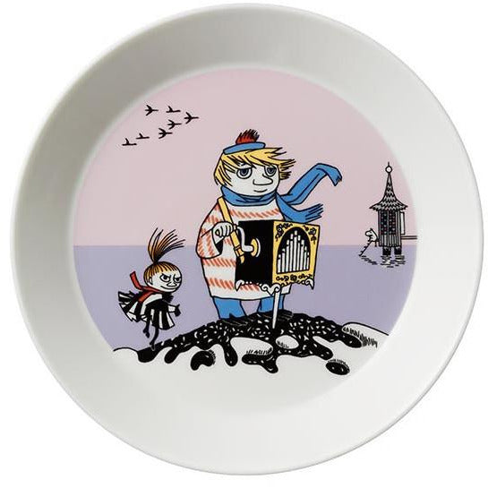 Too-ticky plate, violet by Arabia - The Official Moomin Shop