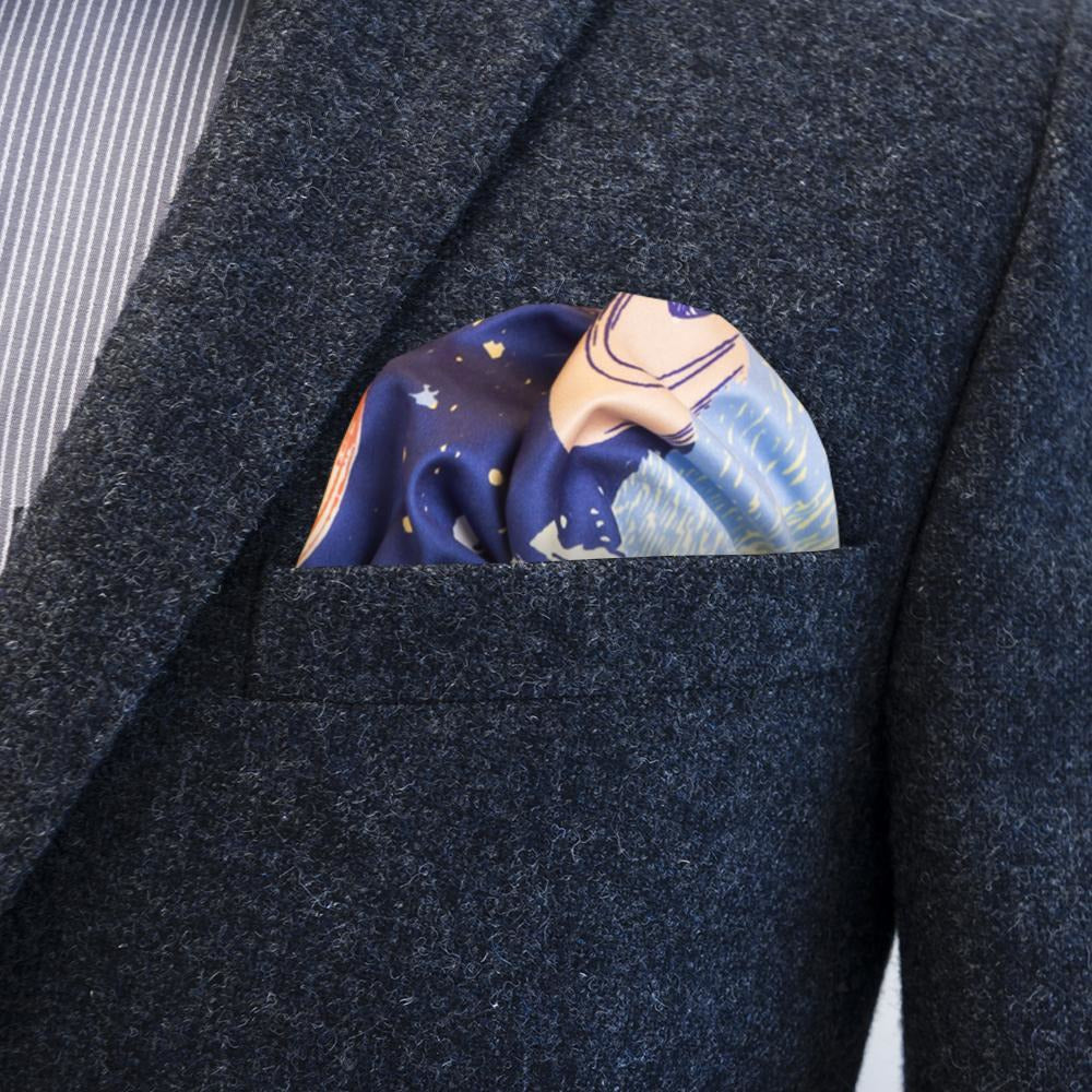 "Moomin ""Hat"" multipurpose Pocket square - FatCloth - The Official Moomin Shop"