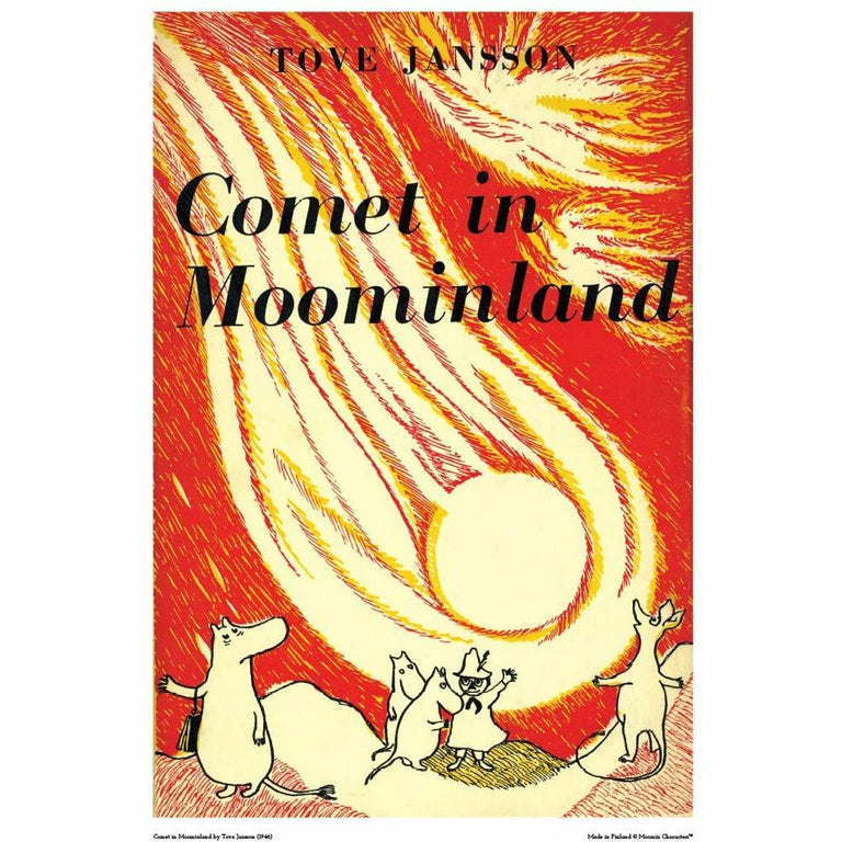 Moomin poster - Comet in Moominland - The Official Moomin Shop