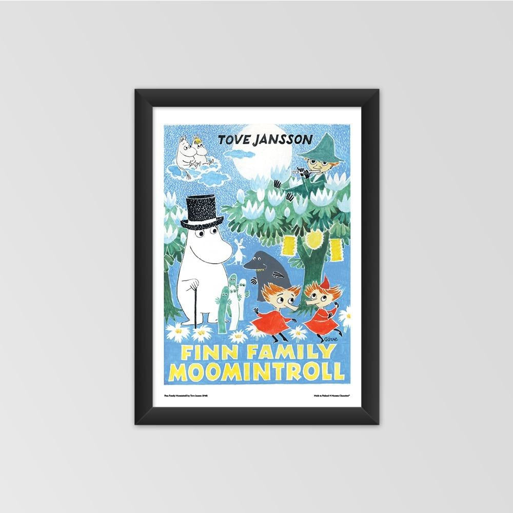 Moomin poster - Finn Family Moomintroll - The Official Moomin Shop