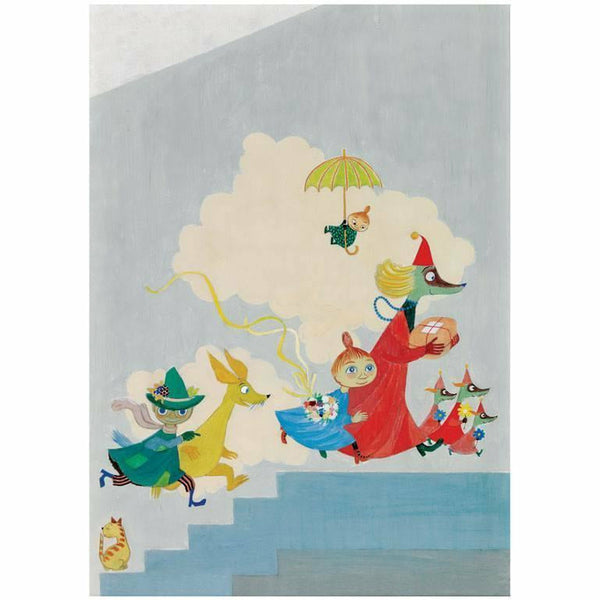 Moomin poster the aurora hospital mural the official for Poster mural intisse