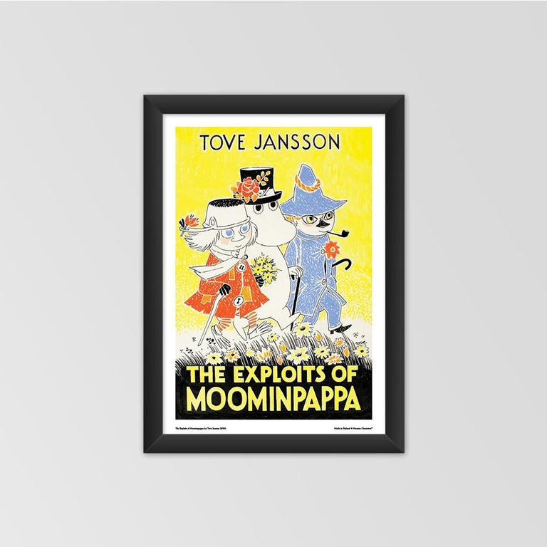 Moomin poster - The Exploits of Moominpappa - The Official Moomin Shop