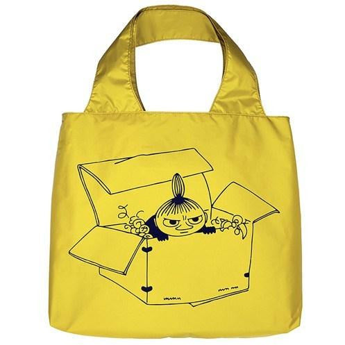 Little My Eco Carrybag yellow - Showroom - The Official Moomin Shop