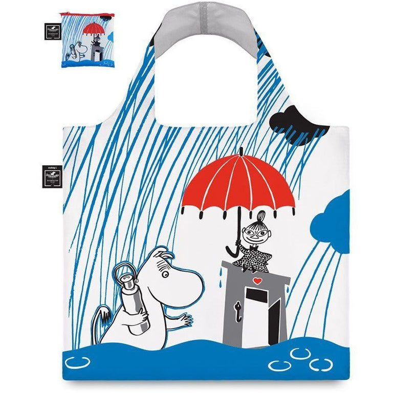 Eco carrybag Moomin Raining - The Official Moomin Shop