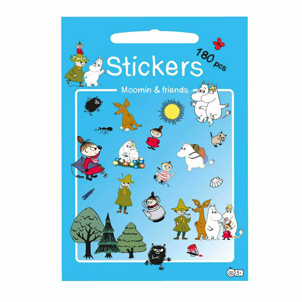 "Moomin ""Friends"" Stickers - Barbo Toys - The Official Moomin Shop"