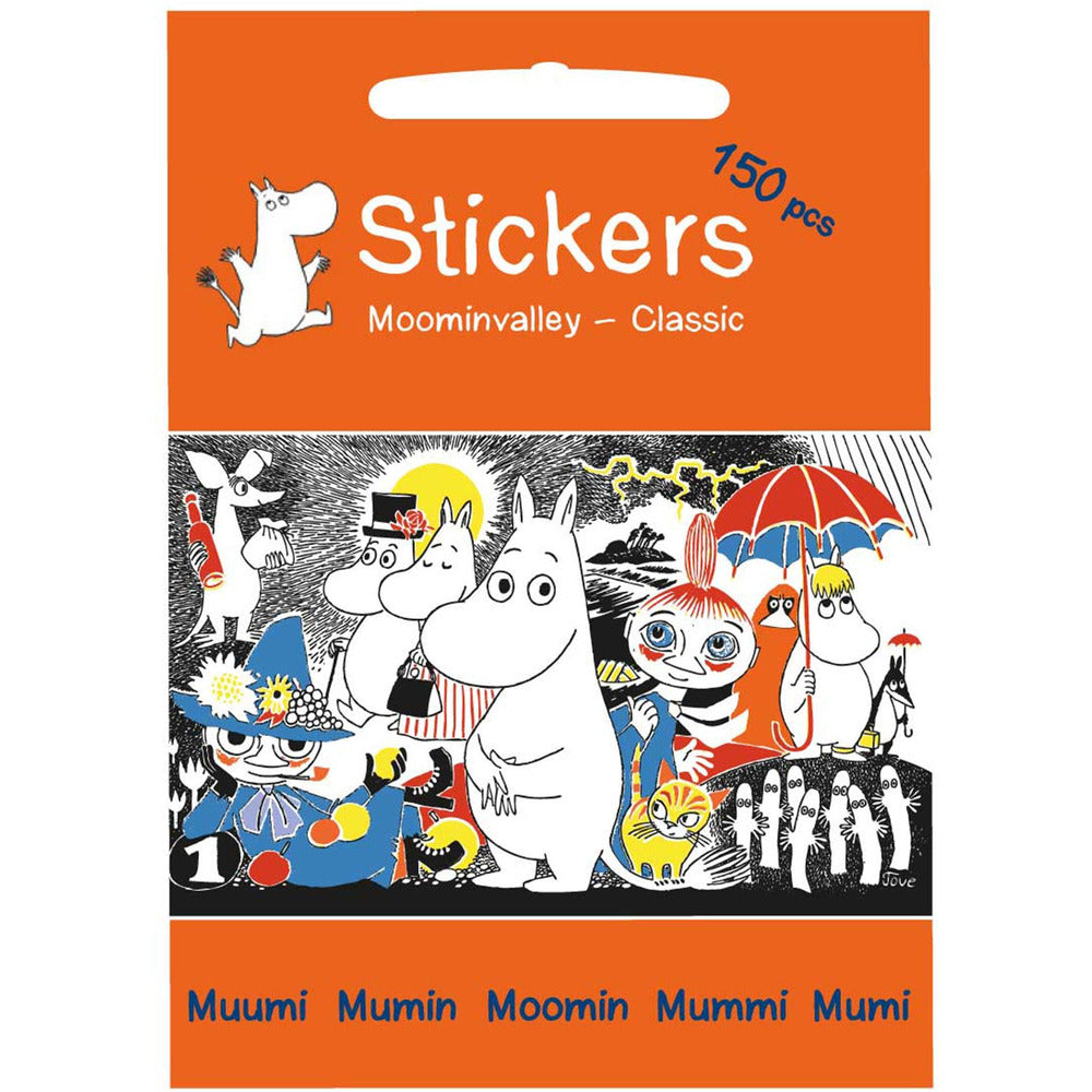 Moominvalley Stickers - Barbo Toys - The Official Moomin Shop