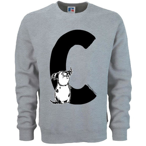Moomin Alphabet sweatshirt  - C as in Cedric