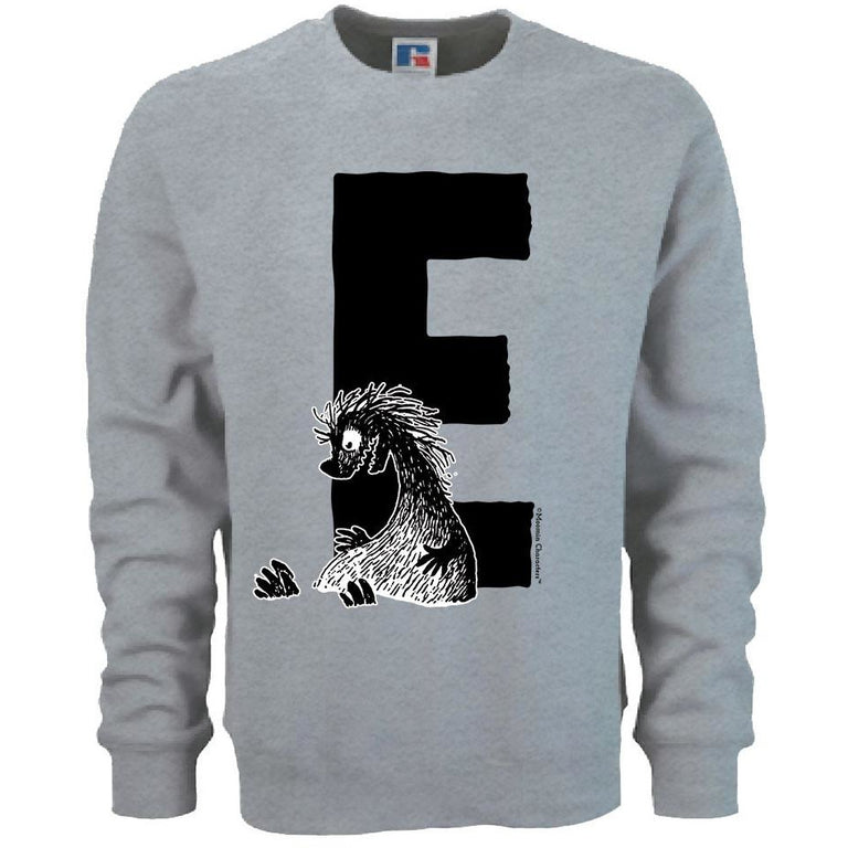 Moomin Alphabet sweatshirt  - E as in Edward The Booble - The Official Moomin Shop  - 1