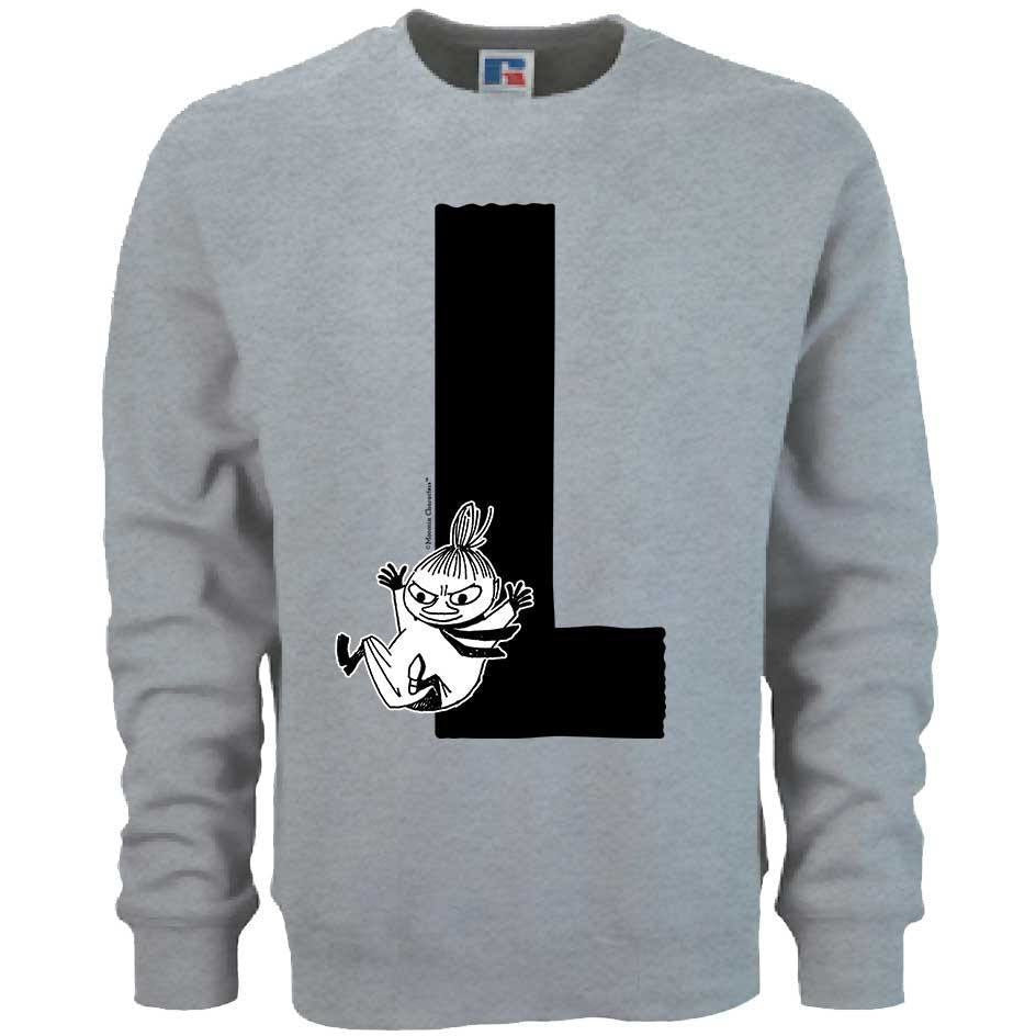 Moomin Alphabet sweatshirt  - L as in Little My - The Official Moomin Shop  - 1