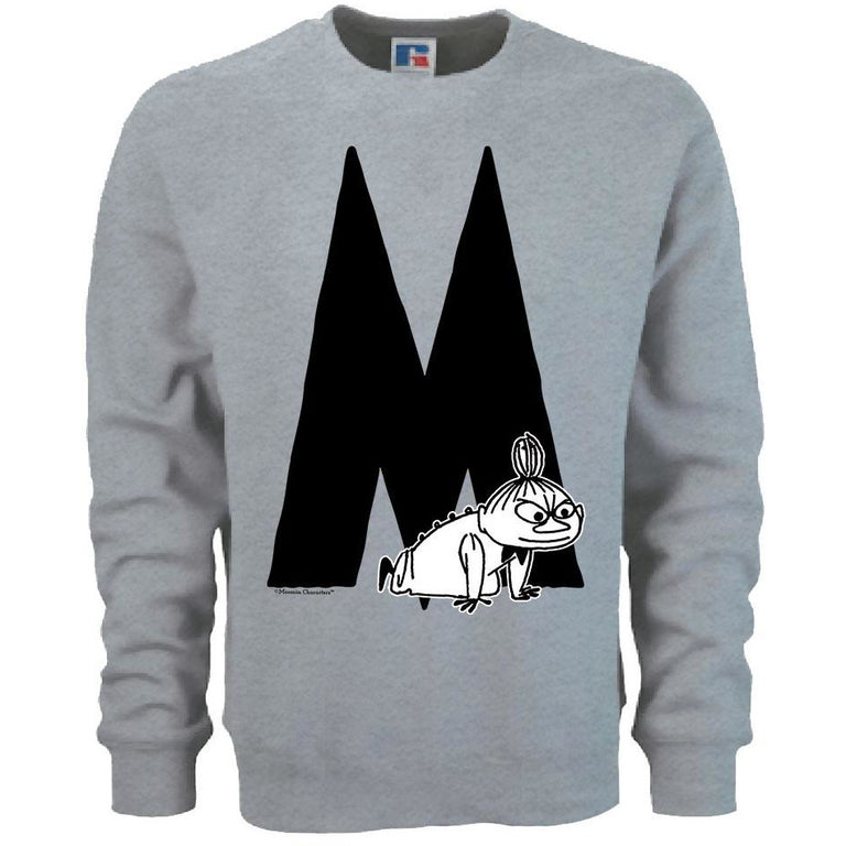 Moomin Alphabet sweatshirt  - M as in Little My - The Official Moomin Shop  - 1