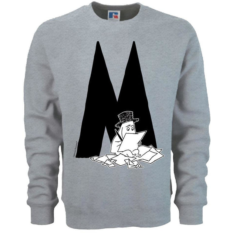 Moomin Alphabet sweatshirt  - M as in Moominpappa - The Official Moomin Shop