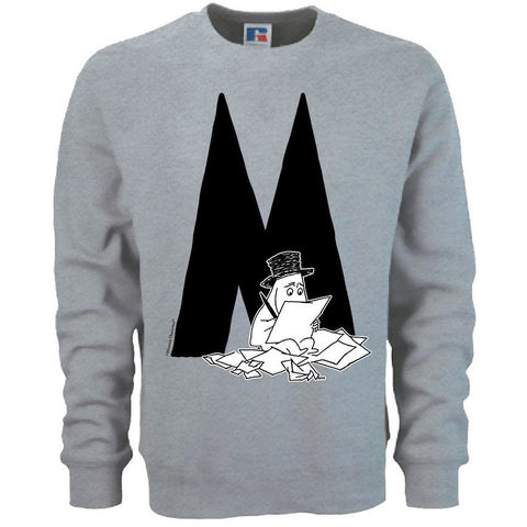 Moomin Alphabet sweatshirt  - M as in Moominpappa