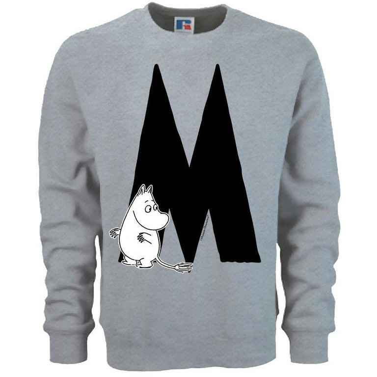 Moomin Alphabet sweatshirt  - M as in Moomintroll - The Official Moomin Shop  - 1