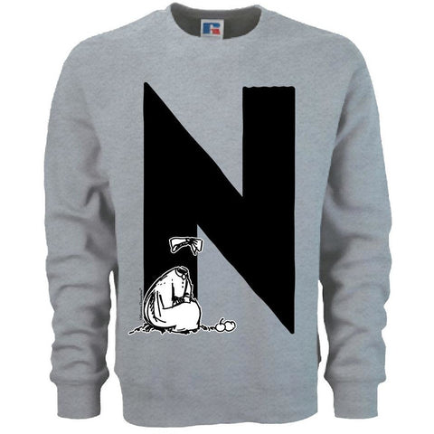 Moomin Alphabet sweatshirt  - N as in Ninny