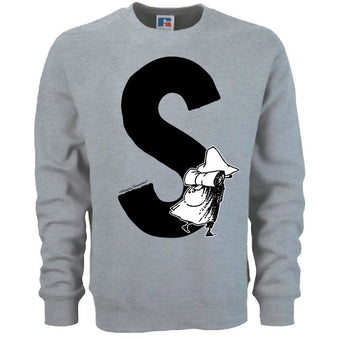 Moomin Alphabet sweatshirt  - S as in Snufkin