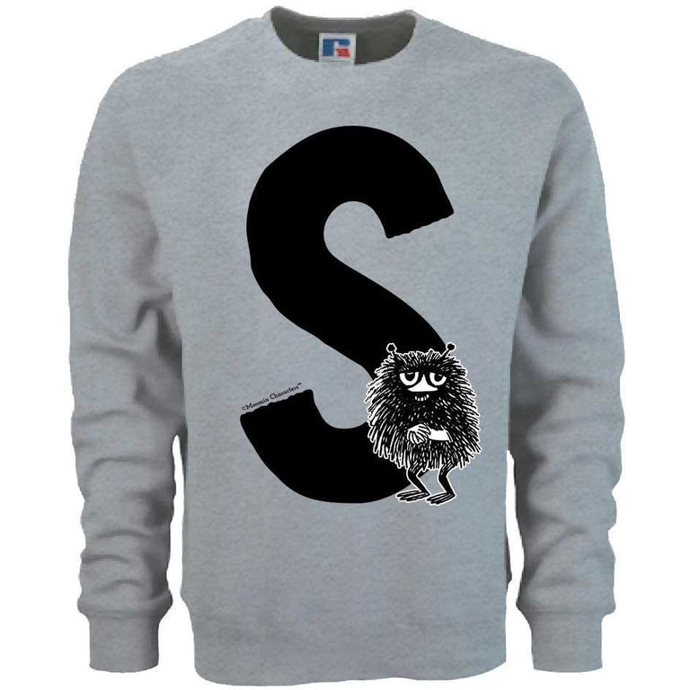Moomin Alphabet sweatshirt  - S as in Stinky - The Official Moomin Shop