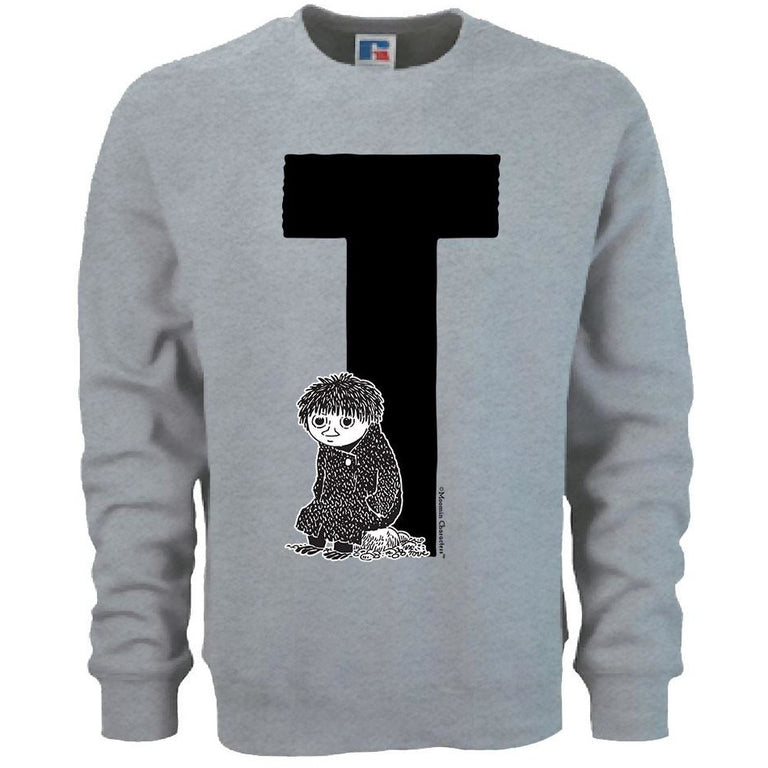 Moomin Alphabet sweatshirt  - T as in Toffle - The Official Moomin Shop  - 1