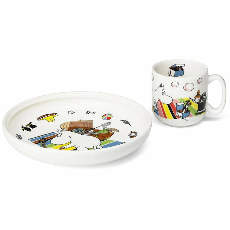 Moomintroll set for children by Arabia - The Official Moomin Shop