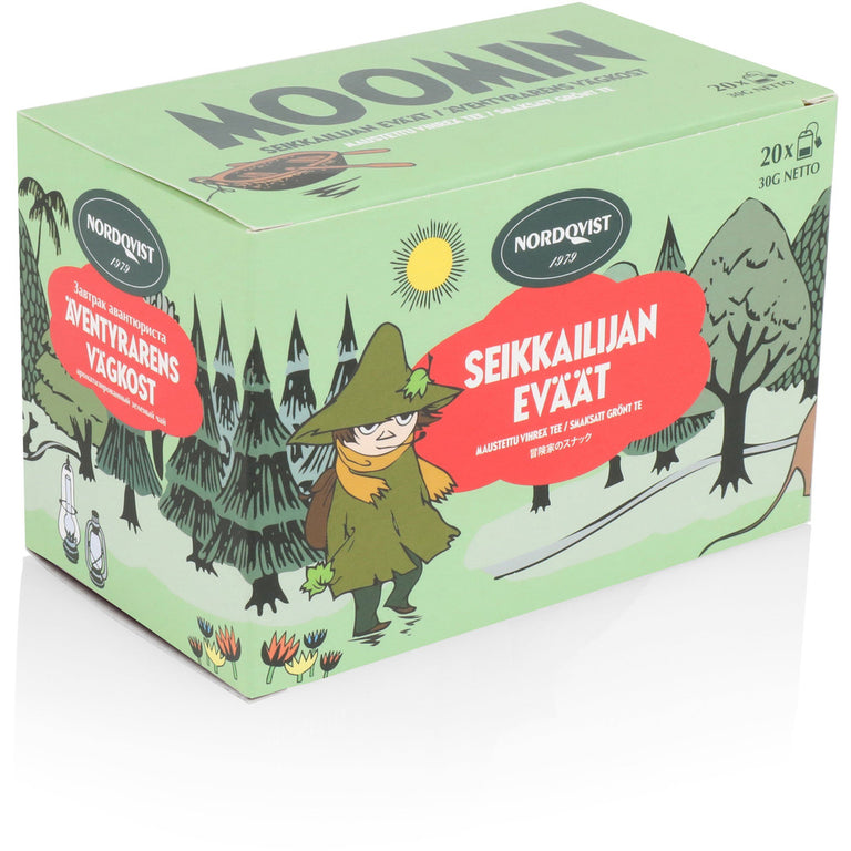 Bagged Moomin Green Tea - Adventurer's snacks - The Official Moomin Shop