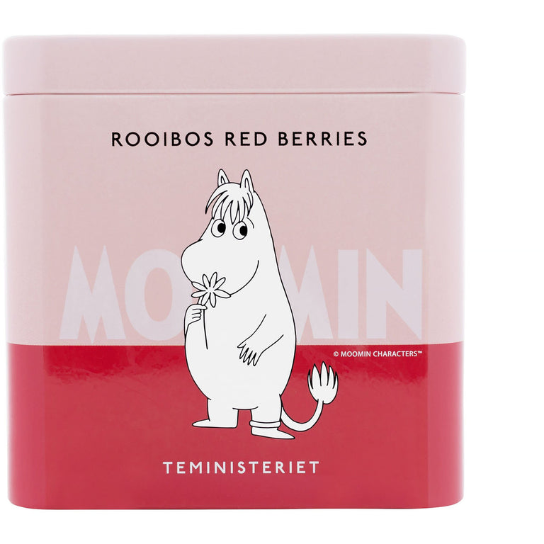 "Snorkmaiden Rooibos Tea ""Red Berries"" tin - Teministeriet - The Official Moomin Shop"
