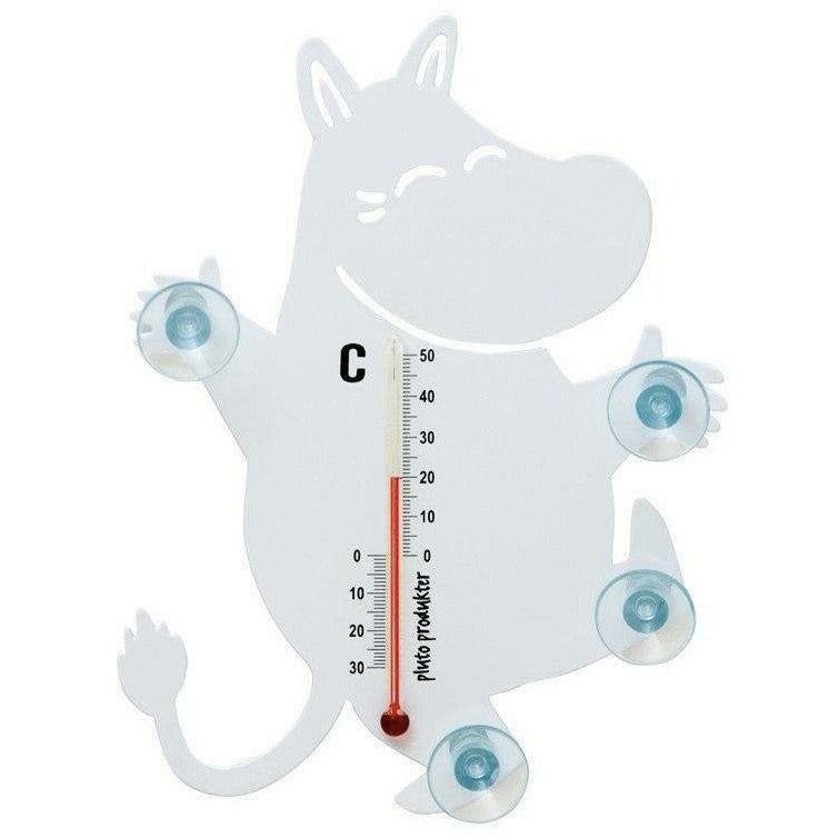 White Moomin thermometer by Pluto Produkter - The Official Moomin Shop