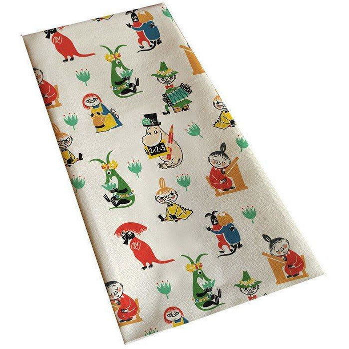 50's pattern Kitchen towel - The Official Moomin Shop
