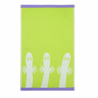 Hattifatteners hand towel lime 30 x 50 cm by Finlayson
