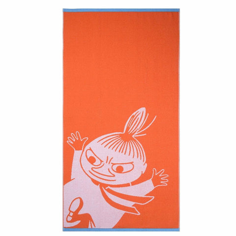 Little My bath towel orange 70 x 140 cm by Finlayson
