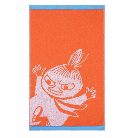 Little My hand towel orange 30 x 50 cm by Finlayson