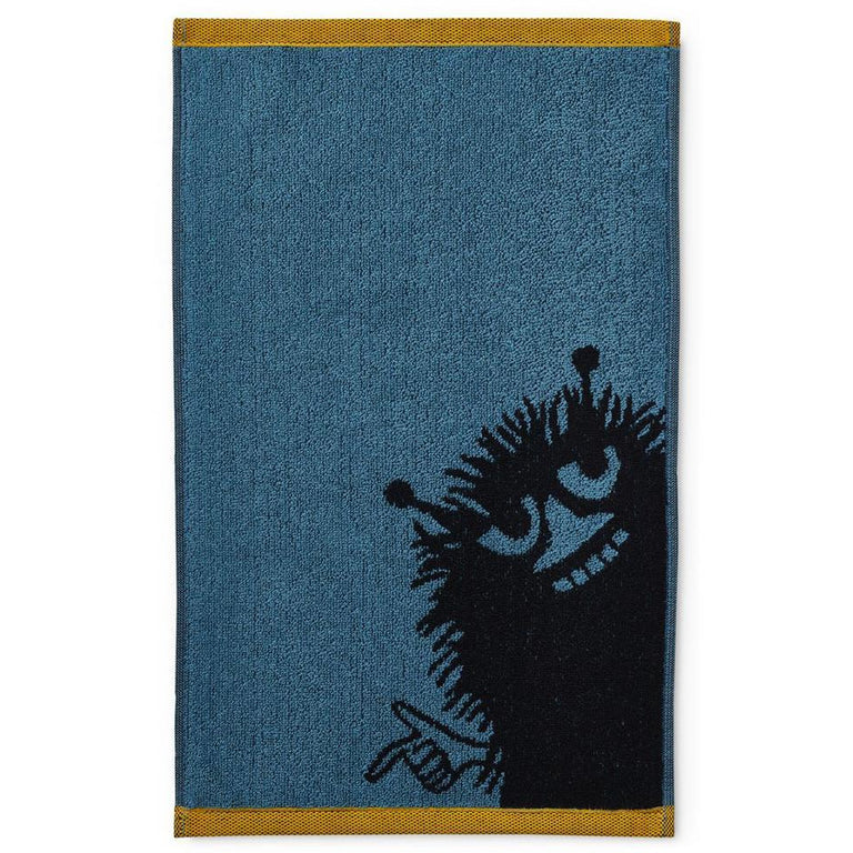 Stinky hand towel petrol 30 x 50 cm by Finlayson - The Official Moomin Shop