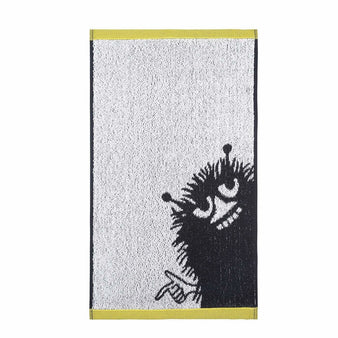 Stinky hand towel white/grey 30 x 50 cm by Finlayson