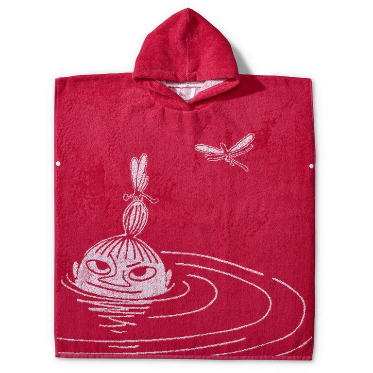 Swimmer Little My bath poncho by Finlayson - The Official Moomin Shop