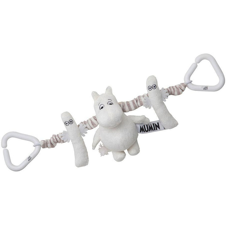 Moomintroll Pram Toy - Rätt Start - The Official Moomin Shop