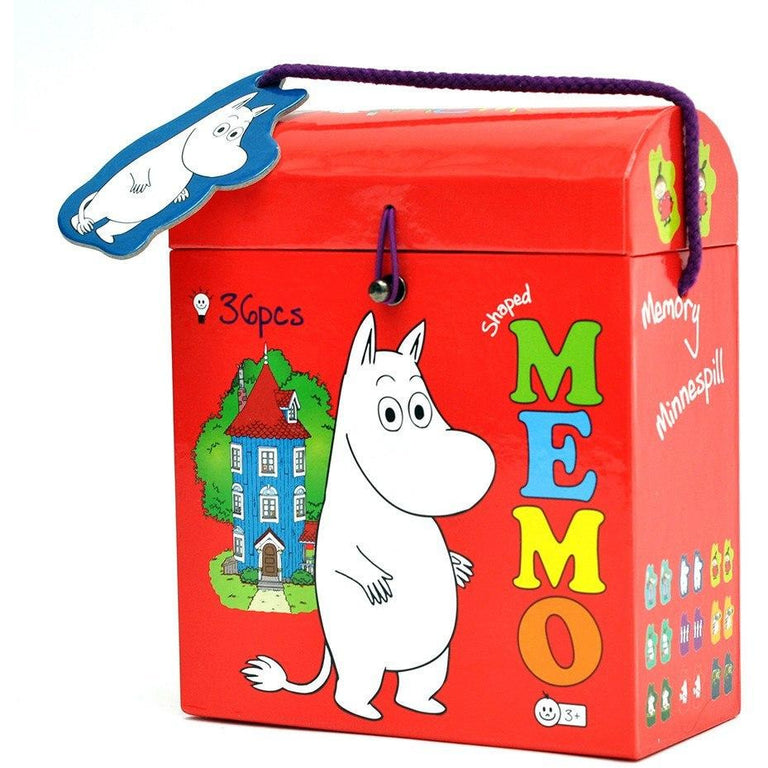 Moomin shaped memory by Barbo Toys - The Official Moomin Shop