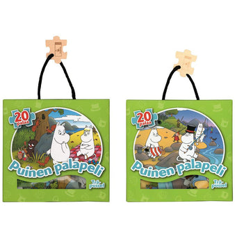 Moomin wooden puzzle 2-pack