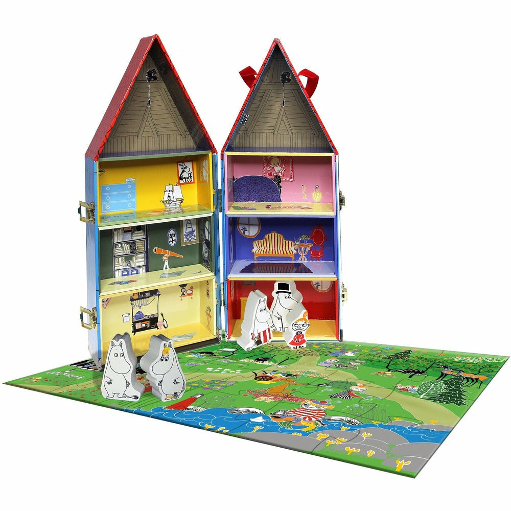Moominhouse & 5 characters - Barbo Toys - The Official Moomin Shop