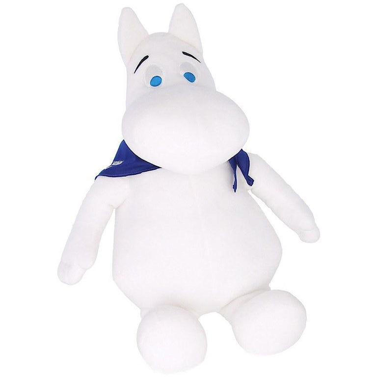 Moomintroll 23 cm Plush Toy - Exclusive Moomin Shop product - The Official Moomin Shop